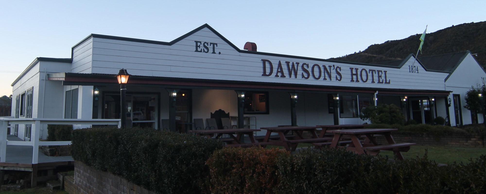 Dawsons Hotel - Accommodation, Restaurant and Bar