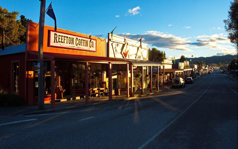 Reefton township